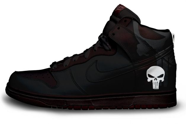premium selection 42baa e7f09 I would buy this shoe immediately. I like the faded Punisher logo on the  back and the subtle maroon colors.