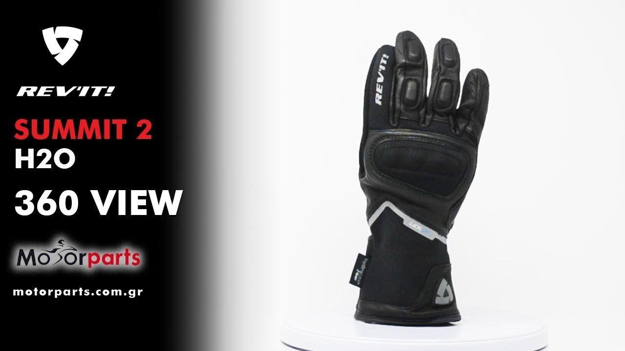 0d8ed7099cb Γάντια Μηχανής #Revit Summit 2 H2O Black Αδιάβροχα | Helmet Videos 360 |  Motorcycle helmets, Helmet, Videos