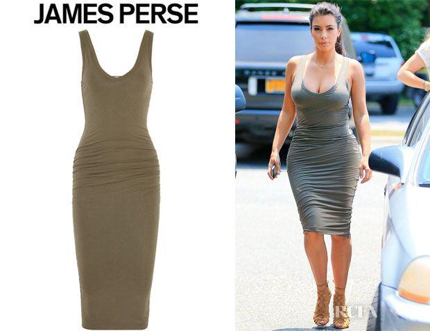 James perse color block dress