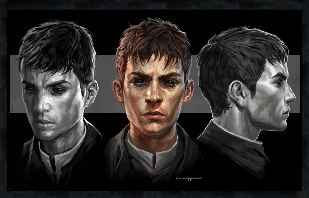the outsider character design