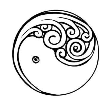 Yin Yang New Beginning Tattoo Design Pinterest Tattoo Designs