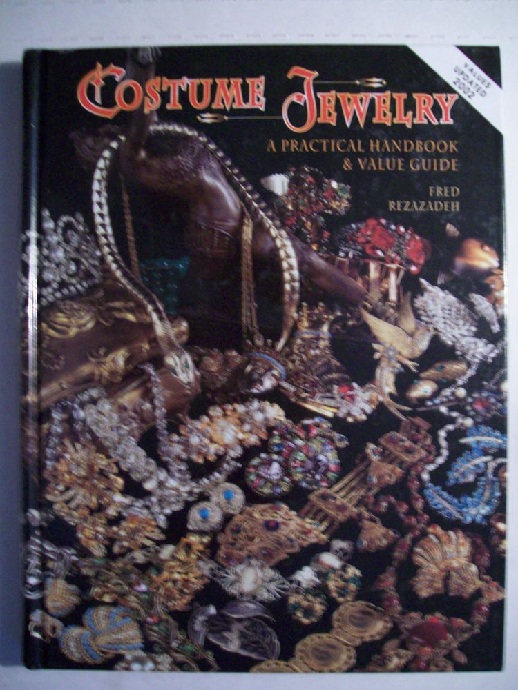 Vintage Costume Jewelry 2,200 Collector s Price Guide Book Hardback ...