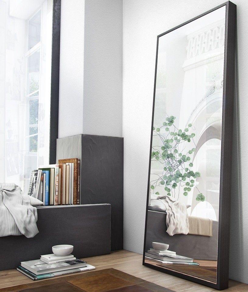 Taft full length mirror wenge window room and bedrooms for Miroir wenge ikea
