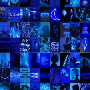 Moody Dark Purple-VSCO DIGITAL Wall Collage (45pcs)