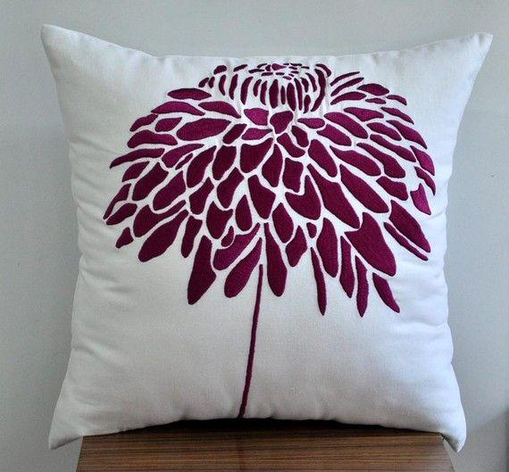 Throw Pillow Cover Decorative Pillow Cover White Pillow Deep