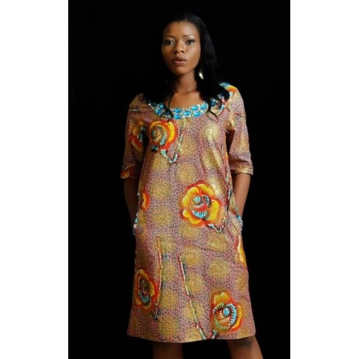 Ankara A Line Dresses Lilys Lookbook Ankara Dress Dresses