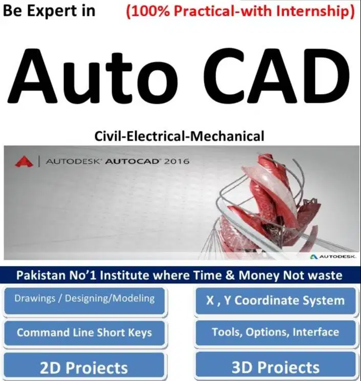 Autocad Course In Multan Education Classes 1013355013 In 2020 Learn Autocad Autocad Jobs Autocad