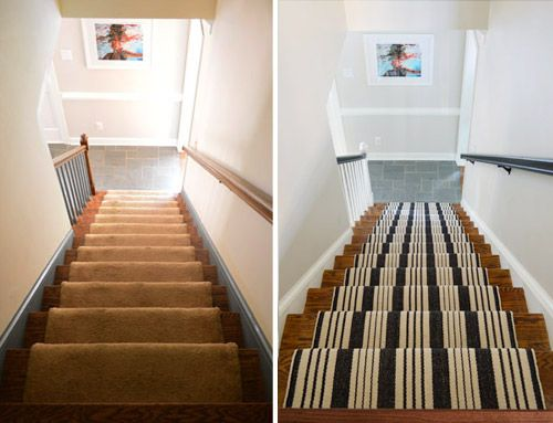 Best How To Install A Stair Runner Yourself Young House Love Stairs Home Decor 640 x 480