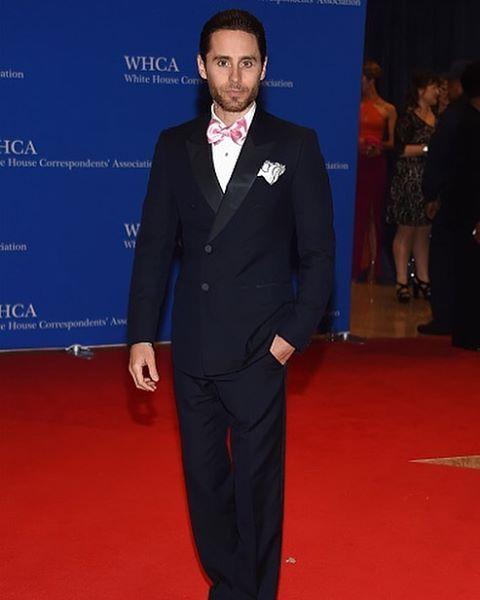 He's just gorgeous  #jaredleto #whitehousecorrespondentsdinner #perfection
