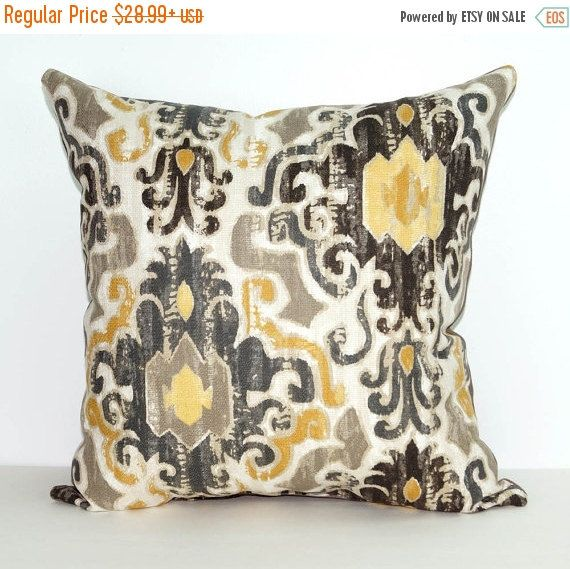 Damask Pillow Torol Sterling Decorative Double Sided