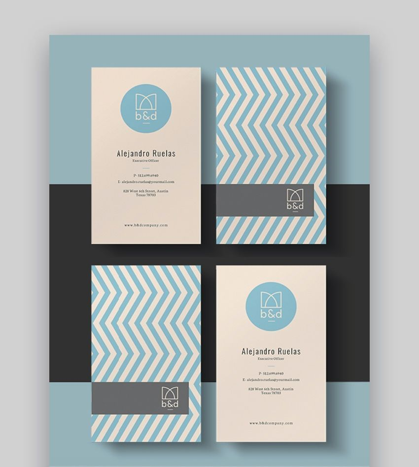 The Marvelous 20 Double Sided Vertical Business Card Templates Word Or In 2020 Vertical Business Card Template Free Business Card Templates Vertical Business Cards