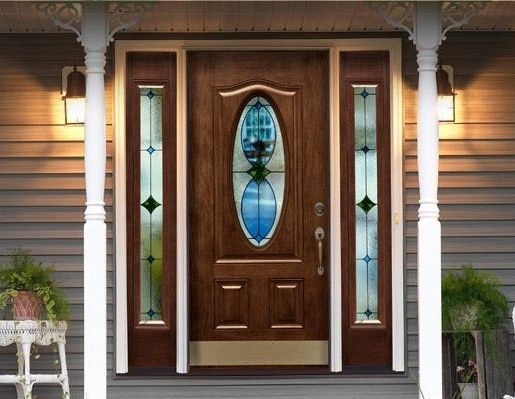 Cheap Entry Doors With Side Lights Type Of Steel Entry Doors