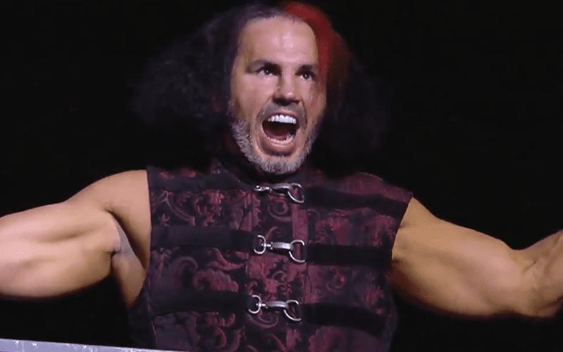 Matt Hardy Welcomes Fans To All Delete Wrestling Hardy Wrestling Matt