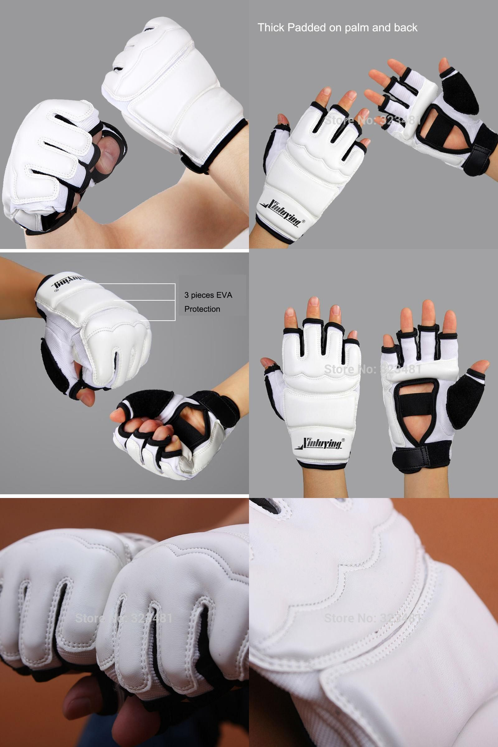 WTF Approved Competition Taekwondo Gloves