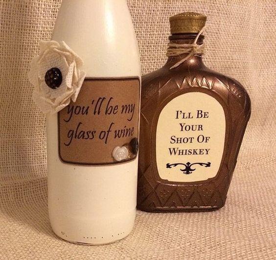60 Amazing Diy Wine Bottle Crafts Craft Ideas Liquor Bottle