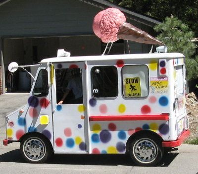Ice Cream Truck Ice Cream Truck Ice Cream Van Ice Cream Man
