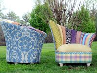 Colorful And Amusing, These Chairs Could Add Some Whimsy To My Home. Salmagundi  Furniture