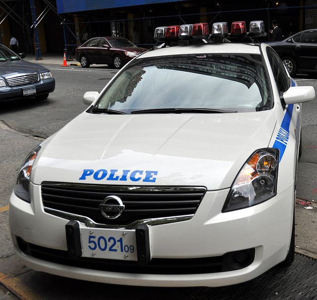 Picture Of NYPD's New Hybrid...