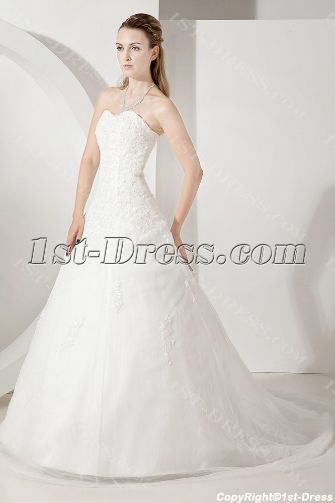 1st-dress.com Offers High Quality 2013 Strapless Beautiful Bridal Gowns,Priced At Only US$198.00 (Free Shipping)
