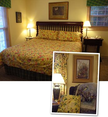 Meadowlark Suite Tennessee Bed And Breakfast Queen Size Sofa