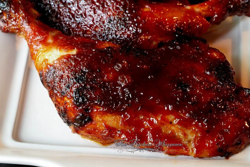 Ultimate Oven Fried Bbq Chicken Quarters Recipe Chicken