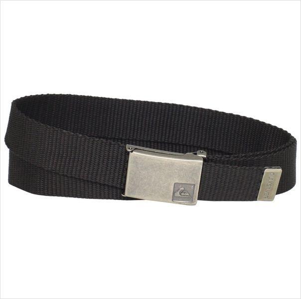 Quiksilver Mens Principle Canvas Belt Black