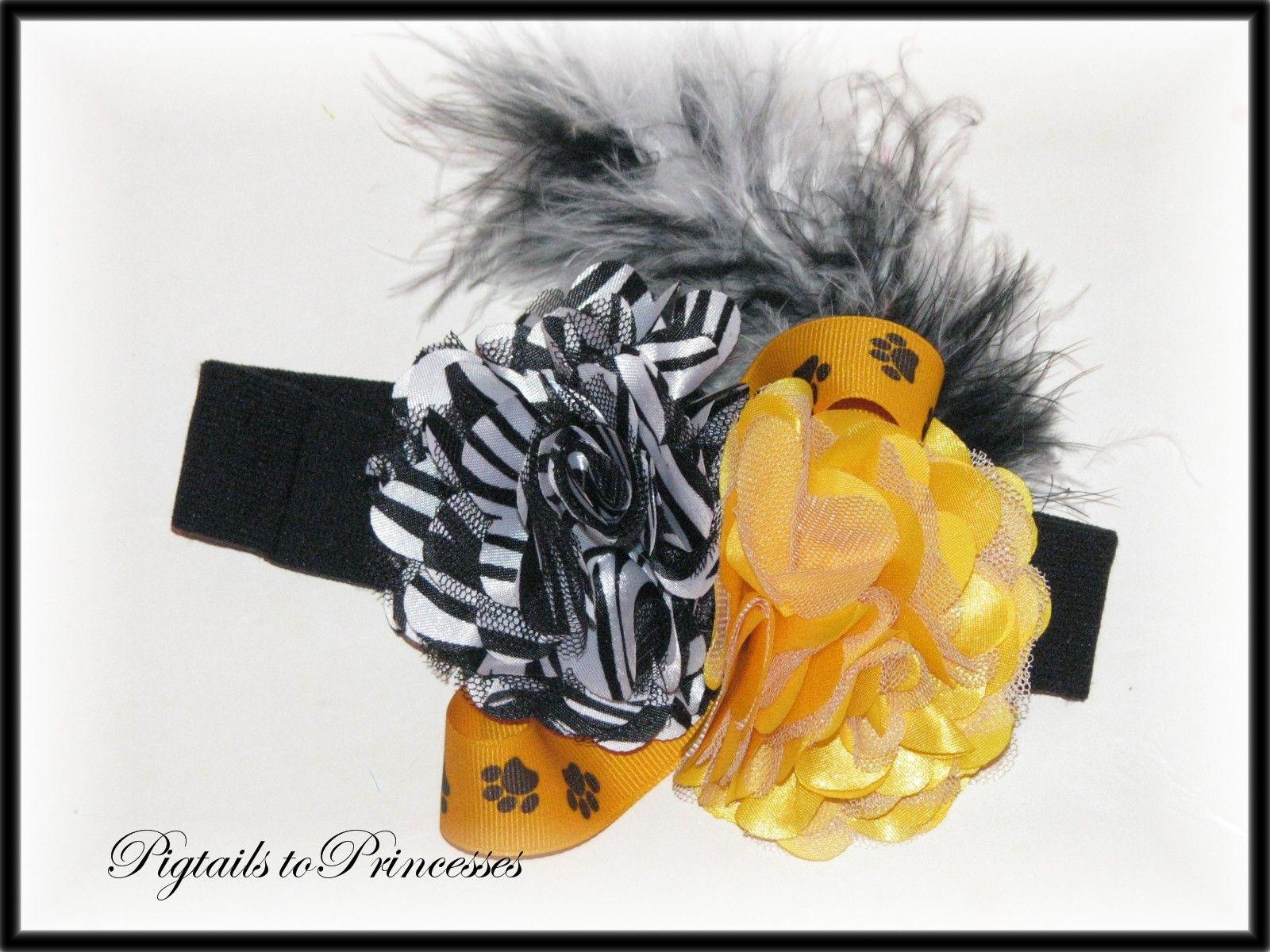 MU Shabby zebra headband 8.00
