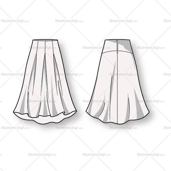 Free Fashion Flat Templates Trim Pack Pleats Fashion Fashion Flats Fashion Sketches