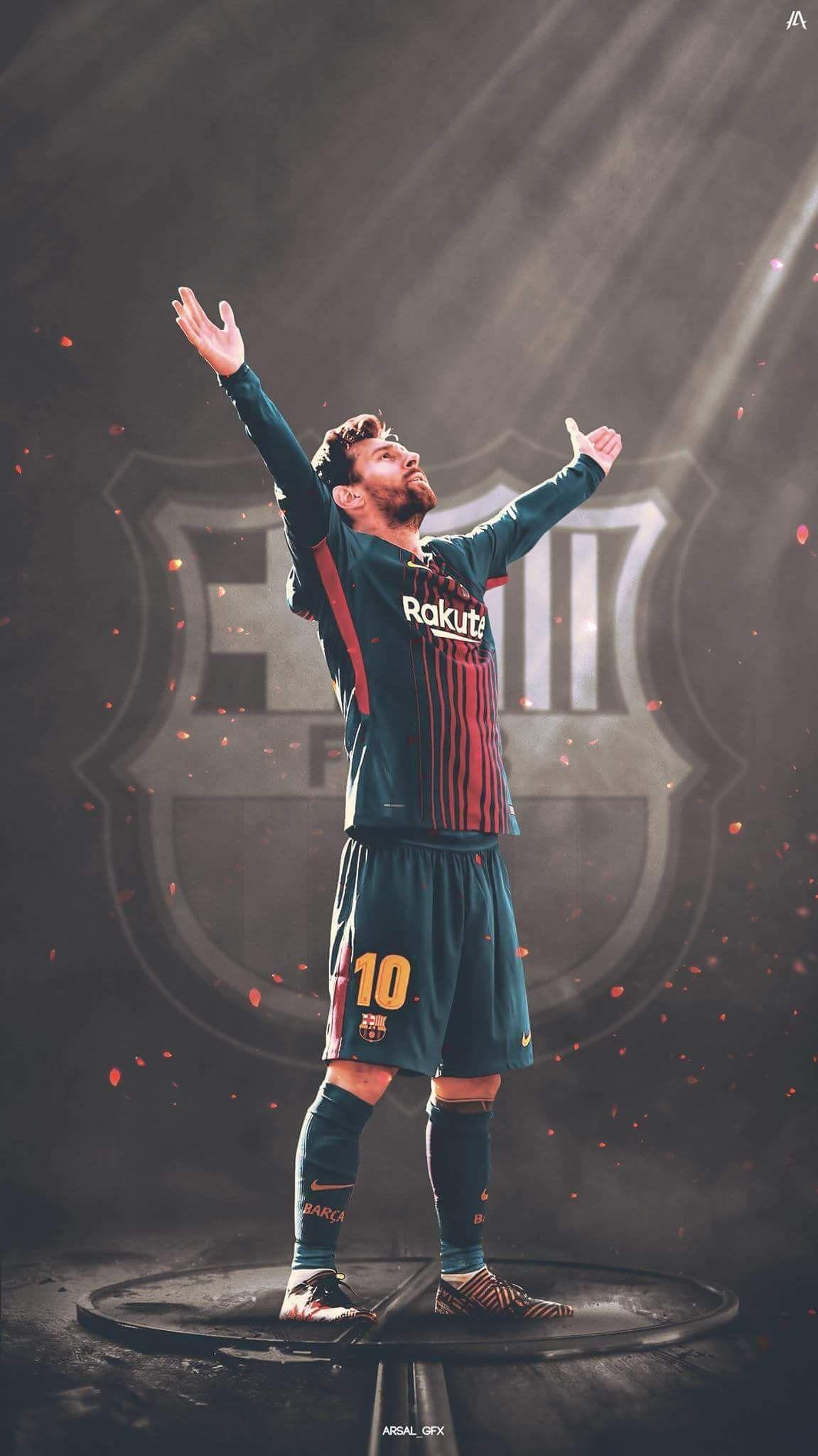 #Messi #GOAT #FCB #Barca | Lionel messi wallpapers, Messi vs ronaldo, Messi, ronaldo