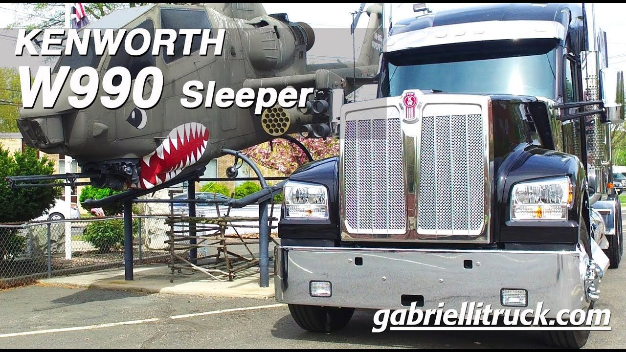 New Kenworth W990 Sleeper For Sale Kenworth Kenworth Trucks