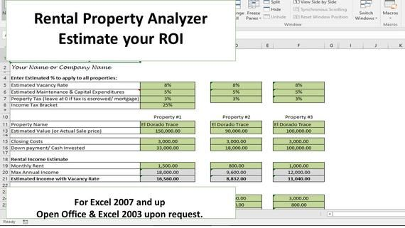 This Investment Property Analyzer Is Perfect For Identifying And