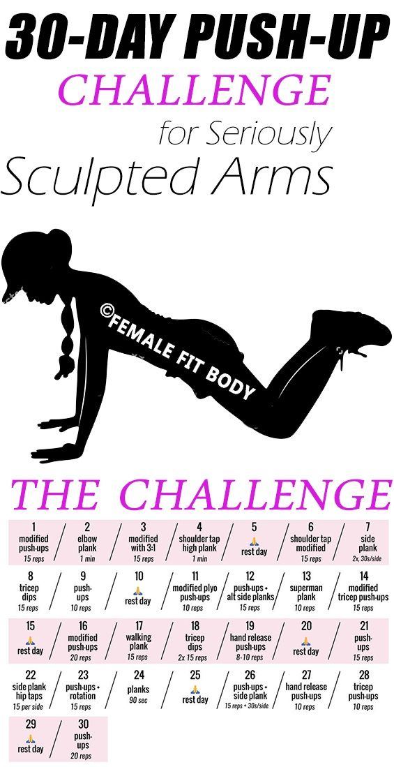 The 30-Day Push-Up Challenge for Seriously Sculpted Arms