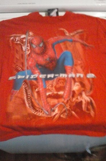 Summerville GA Online Flea Market: Large Spider Man Shirt