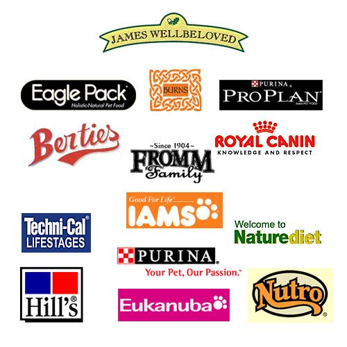 Dog Food Logos Dog Food Recipes Dog Food Brands Food Brand Logos