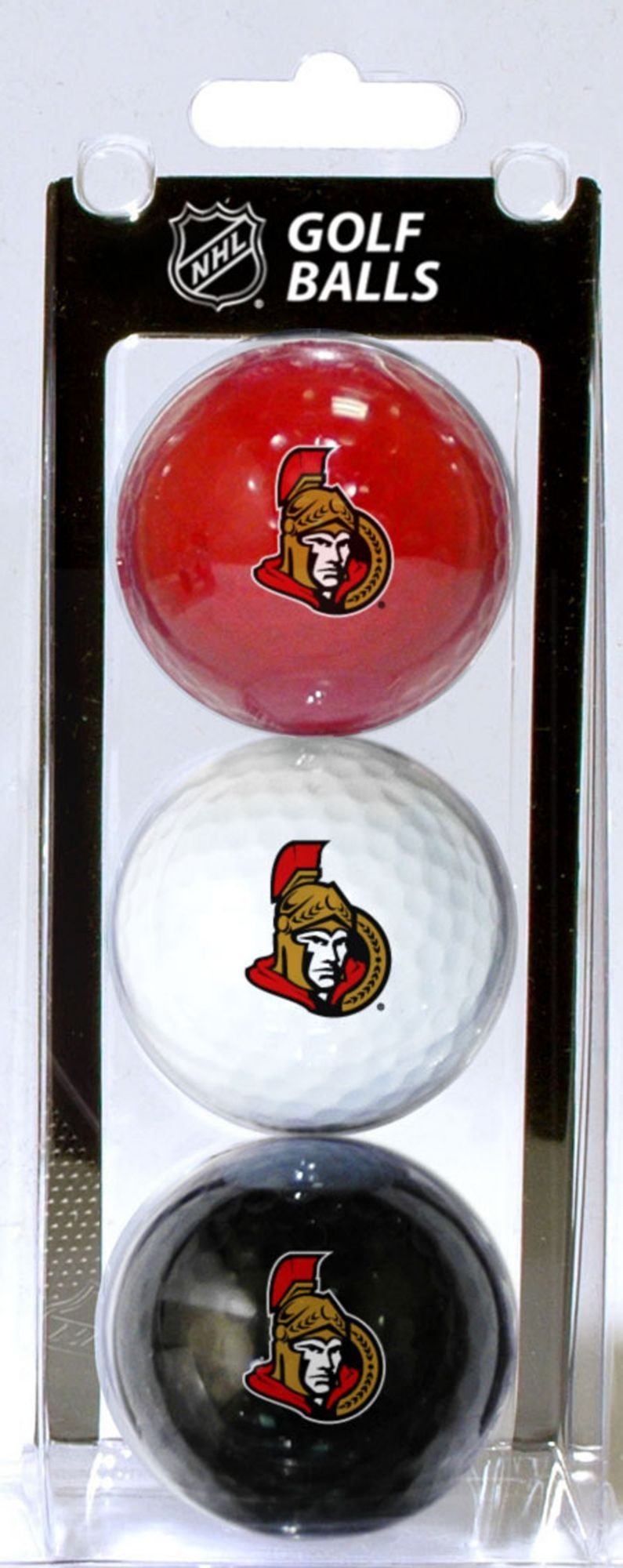Team Golf Ottawa Senators Three Pack Golf Ball Set Golf