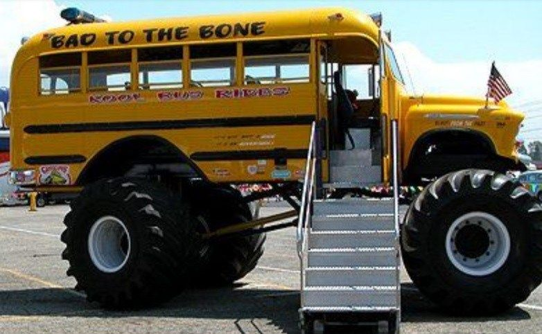 Top 10 Crazy And Unusual Yellow School Buses With Images