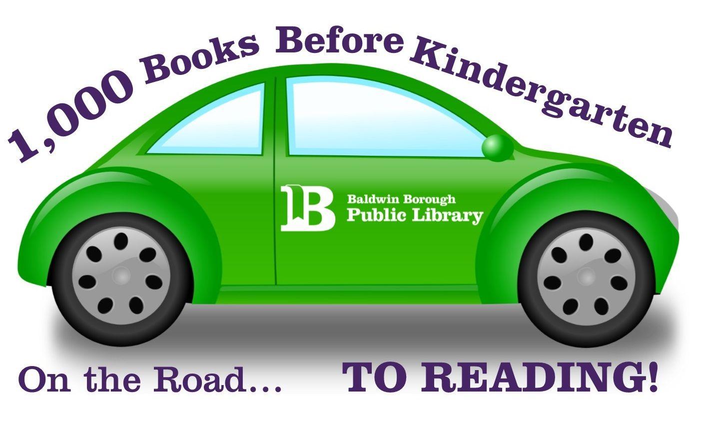 1,000 books logo