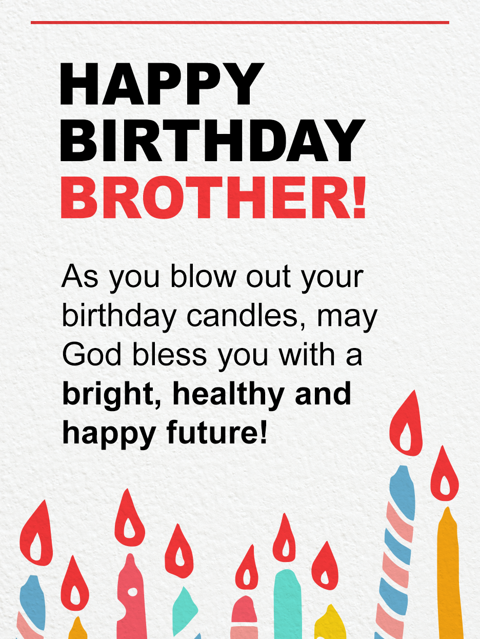 Blow Make A Wish Birthday Card For Brother Birthday Greeting Cards By Davia Birthday Wishes For Brother Birthday Cards For Brother Happy Birthday Wishes Quotes