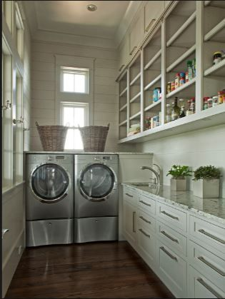 Butler S Pantry Amp Laundry Combo Pantry Laundry Room Grey Laundry Rooms Laundry Room Design
