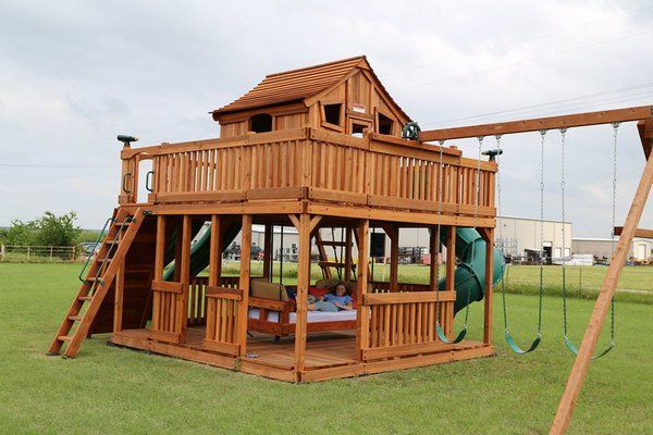 Twitter Backyard Playground Play Houses Backyard For Kids