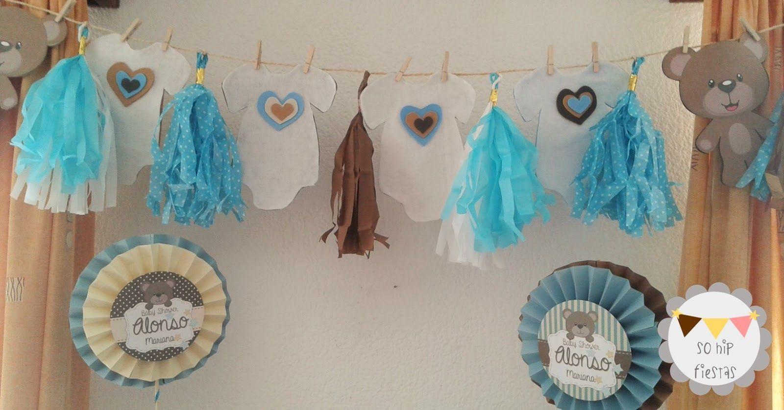 Ideas Baby Shower Nino Ositos.Bienvenidos De Nuevo Al Blog De So Hip Fiestas Somos Un