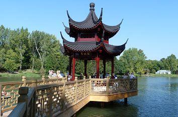 Weissensee Chinesischer Garten Thuringen Urlaub Ausflugsziele Und Sehenswurdigkeiten Quer Durch Deutschlan Chinesischer Garten Japanische Pagode Garten