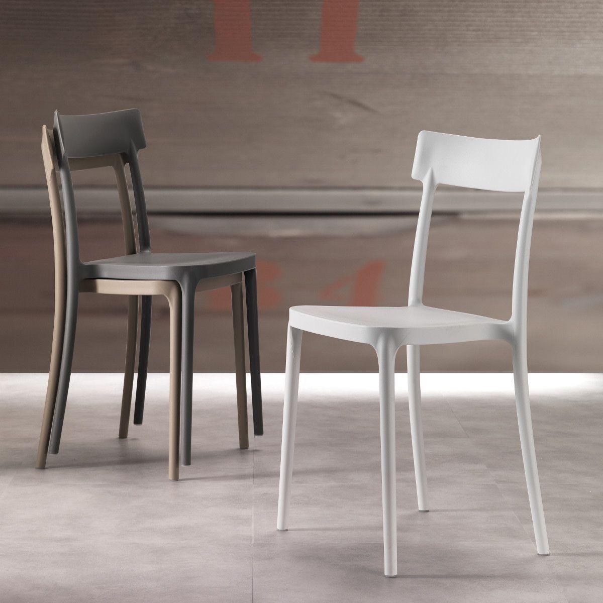 Sedie Stile Moderno.Sedia In Polipropilene Moderna Angelita Angelita E La Sedia