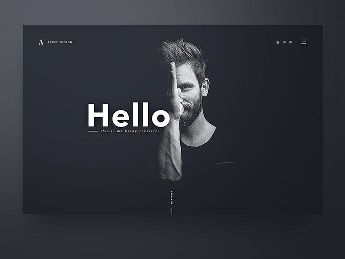 50 Excellent Dark Background Web UI Designs – Bashooka