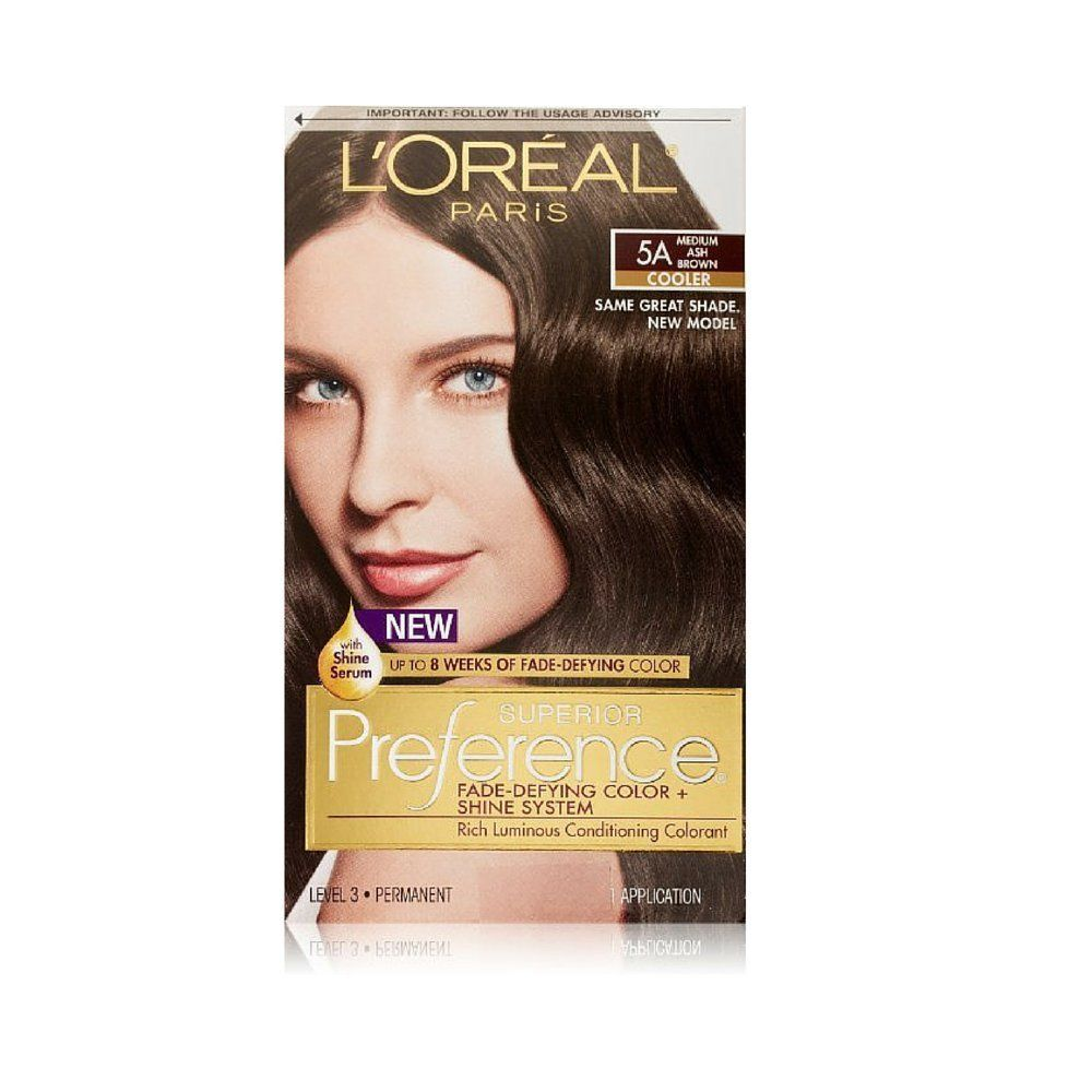 Loreal Superior Preference 5a Medium Ash Brown You Can Find