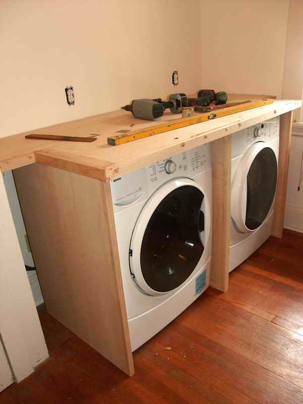 Cabinet Around Washer Dryer 2 Jpg 600 800 Laundry Room Diy
