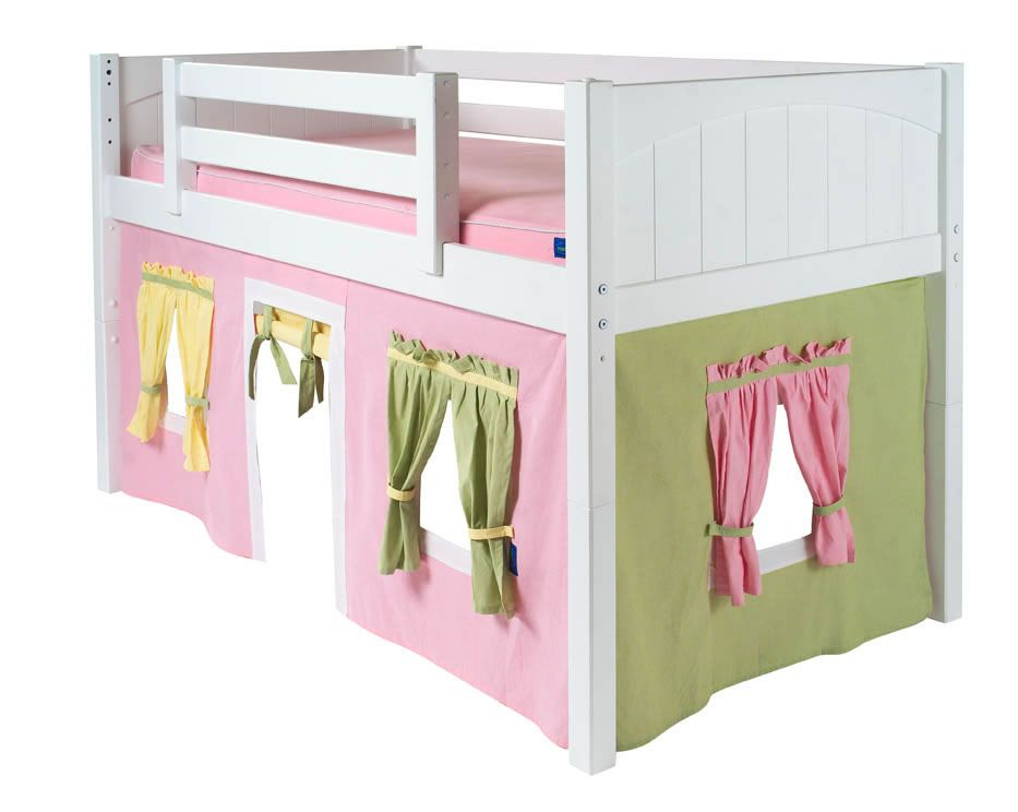 Bunk Beds With Play House Under Playroom Pinterest
