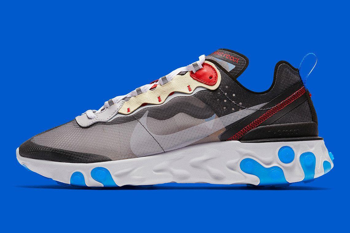 online retailer 2456f 04f6c Nike React Element 87 全新「Dark Grey」及「Desert Sand」配色官方圖片釋出