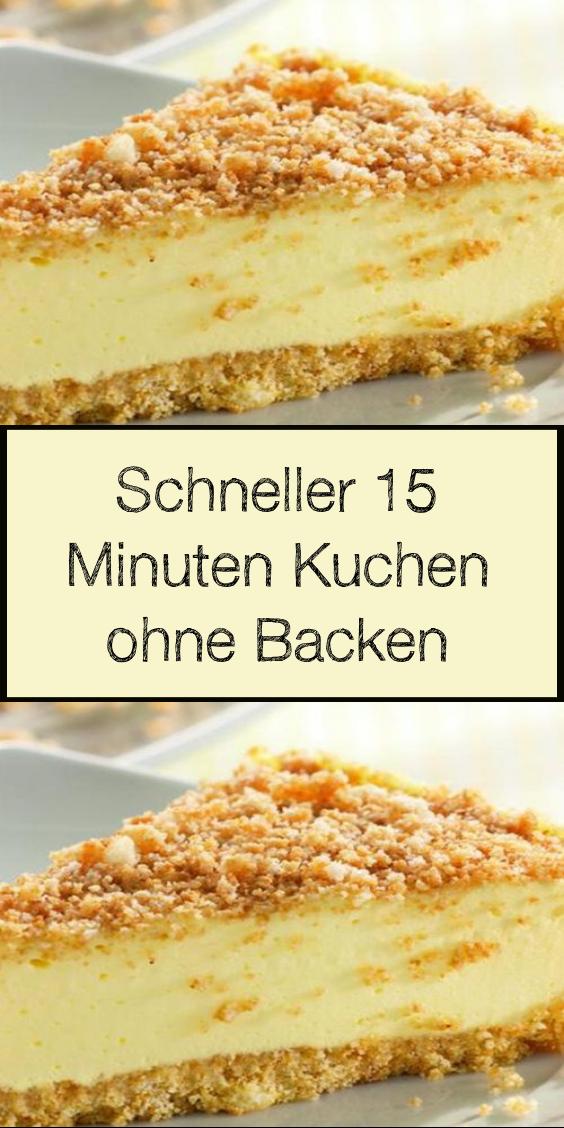 Schneller 15 Minuten Kuchen Ohne Backen In 2020 Easy Cake Recipes Cake Recipes Easy Homemade Easy Cheesecake Recipes