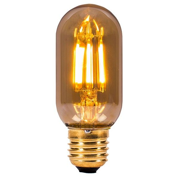 Style from the past, efficiency from the future: Bell Lighting's Vintage 4W Warm White Non-Dimmable E27 Amber LED Tubular Bulb